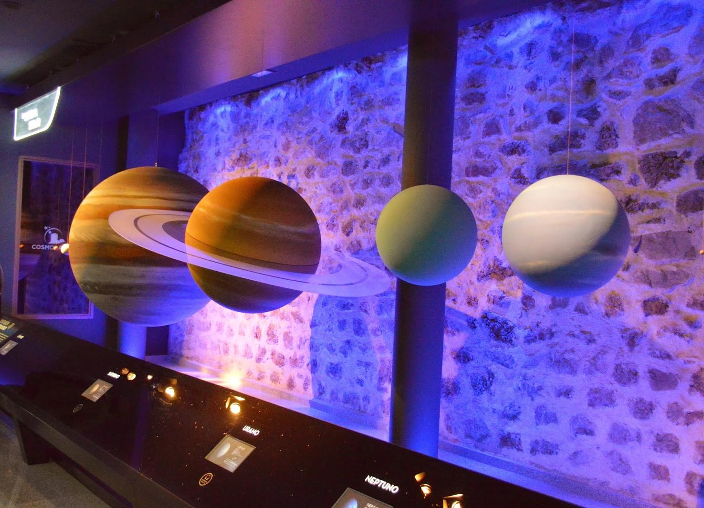 Cosmolarium Hornos de Segura Jaen planetas