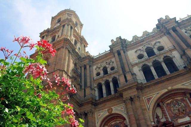 Catedral-Malaga-flores
