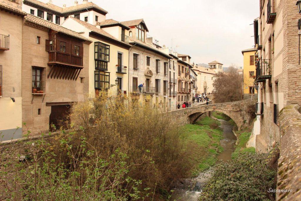 Puente en Paseo de los Tristes, Granada