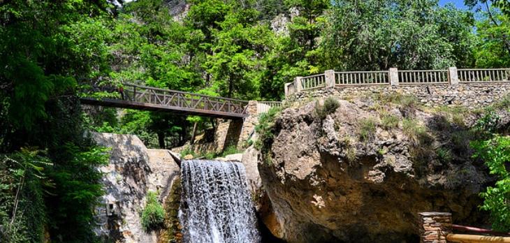 Laujar de Andarax Almería paisaje cascada
