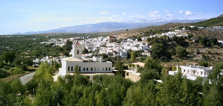 Laujar de Andarax Almería vista pueblo 2