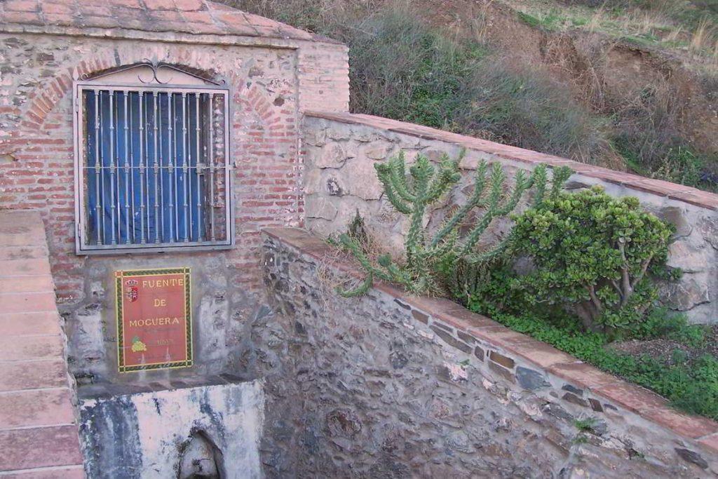 Fuente Moguera en Iznate, Málaga